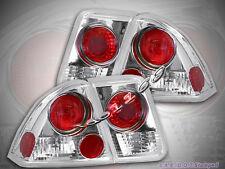 01 02 03 04 Honda Civic Allezza Tail Lights Chrome 4Dr