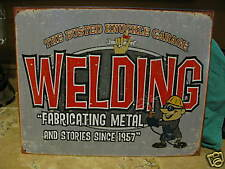Tin Sign- Welding- Fabricating Metal and Stories
