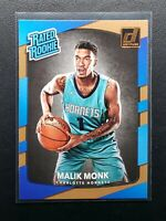 2017-18 Panini Donruss Basketball Malik Monk RC, Rookie Card, Hornets