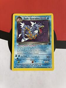 Dark Gyarados 8/82 Holo Rare 2000 Team Rocket Set Pokemon Card