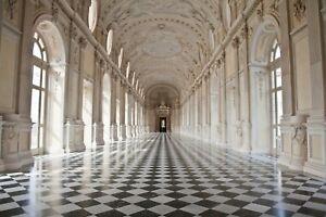 VLIES Fototapete-PALAST-(3187V)-Schloss Barock Architektur Interior Design Dekor