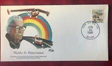 JOHN'S DEALS - US - 1980 - WALDO D WATERMAN AEROSPACE HALL OF FAME COVER