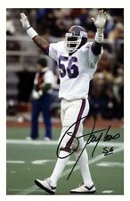 LAWRENCE TAYLOR - NEW YORK GIANTS AUTOGRAPHED SIGNED A4 PP POSTER PHOTO