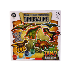 Mould and Paint Your Own Prehistoric Dinosaurs - Arts and Crafts - New