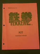 Original Namco Tekken 2 Installation Manual Kit
