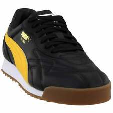 Puma Roma Anniversario Lace Up  Mens  Sneakers Shoes Casual   - Black - Size 11