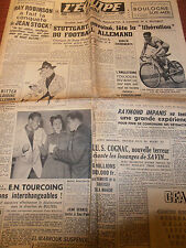 L'EQUIPE BOULOGNE SUR MER CONSTRUIT DU SPORT - FOOTBALL ALLEMAND  ANNÉE 1950