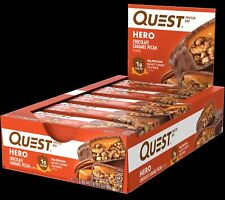 Quest Nutrition Chocolate Caramel Pecan Hero Protein bar, Low Carb, Gluten Free
