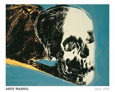 ANDY WARHOL - Skull, 1976 - POP ART PRINT Offset Lithograph Poster 16x20