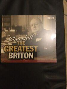 Churchhill ,The Greatest Briton,BBC Audio Book,5 Cd Set