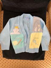 Baby Crest boys v neck light blue cardigan sweater with 4 seasons sz 18 months
