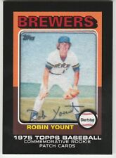 2014 Topps Manufactured Commemorative Rookie Patch Robin Yount