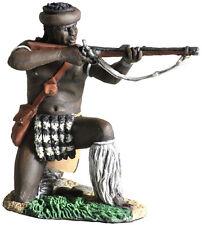 BRITAINS ANGLO ZULU WAR 20117 ZULU UDLOKO REGIMENT KNEELING FIRING RIFLE #1 MIB