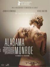 Affiche Pliée 120x160cm ALABAMA MONROE (2013) Veerle Baetens, Heldenbergh NEUVE#