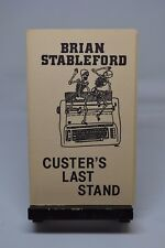 Brian Stableford Custer's Last Stand / Cosmic Perspective SIGNED & Numbered