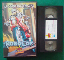 VHS FILM Ita Animazione ROBOCOP La Confraternita S 12125 Stardust no dvd(V111)