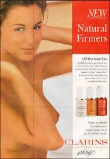 1980s print advertisement CLARINS of PARIS Bust Beauty Care  080117
