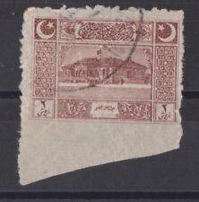 Turkey 1922 Turkish Grand National Assembly Issue Imperf Error, ISFILA 1100 Used
