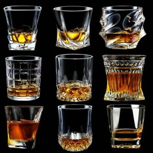 Whiskey Glass Set Glasses Crystal Scotch Fashioned Old Bourbon Whisky Oz Gift