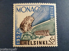 MONACO 1953, timbre 391, SPORT, JEUX OLYMPIQUES, STADE LOUIS neuf**, MNH STAMP