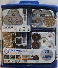DREMEL 725 Speedclic EZ MULTIUSO MODULARE 70 Pz Set DREMEL sc725 2615e725ja