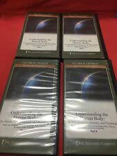 Understanding The Human Body The Great Courses Parts 1-4 The Teaching Co DVD's