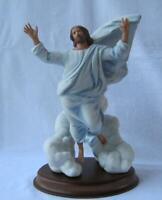 Exquisite Large Franklin Mint JESUS THE TRANSFIGURATION Porcelain Figurine