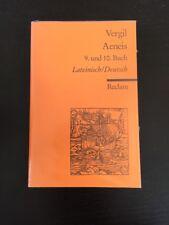 Vergil Aeneis 9. und 10. Buch Reclam Lateinisch-Deutsch