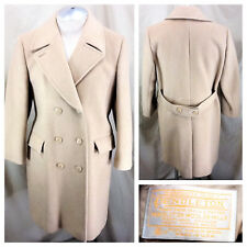 Vintage Pendelton 100% Virgin Wool (Large) Button Up Long Tail Winter Peacoat