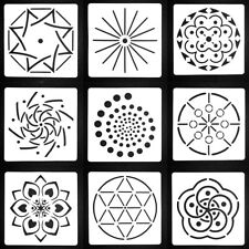 IG_ Flower Mandala DIY Layering Embossing Stencil Template For Painting Scrapboo