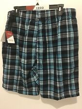 Men's IZOD Pajama Shorts, Large, NWT, Soft Touch Fabric, $30 Value