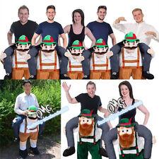 Bavarian Beer Guy Mascot Costume Oktoberfest Dress Halloween Party Play