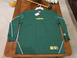 Green Bay Packers Long Sleeve Shirt NFL ADULT XL NEW/tag Jersey Aaron Rogers