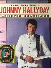 Johnny Hallyday La collection officielle Livre CD Johnny 67