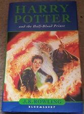 Harry Potter and the Half-Blood Prince. J.K Rowling. Hardback. 1st Edition.