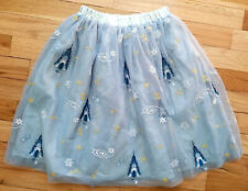 466a9b1ed2 Hanna Andersson Disney Collection Frozen Elsa Tulle Blue Skirt