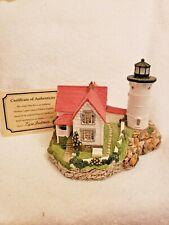 Harbour Lights 141 Cape Neddick, Me Lighthouse, Coa, Box #2901 c.1994