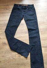 "Notify 'Hellebora' Ladies Designer Italian Jeans TALL W28"" L36"" UK8 Straight leg"