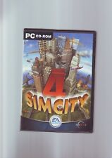 SIMCITY 4 - PC GAME - FAST POST - ORIGINAL & COMPLETE WITH BOTH MANUALS - VGC