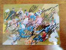 signed SEVENTEEN autographed group photo 5*7 YOU MAKE MY DAY K-POP 112018