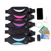 Waterproof Belt Bum Waist Camping Hiking Pouch Sports Zip Pack Bag Sports Casual