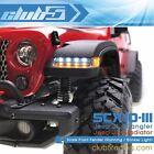 Front Fender (Dual Color LED Lights)for SCX10 III Jeep JL Wrangler/ JT Gladiator