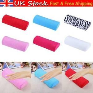 Nail Art Hand Rest Pillow Cushion Arm Pad Washable Manicure Beauty Equipment UK
