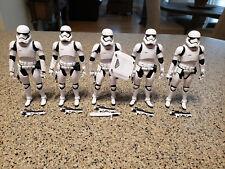 Star Wars - Black Series (6in) - (5) FIRST ORDER STORMTOOPER - Loose - 2016