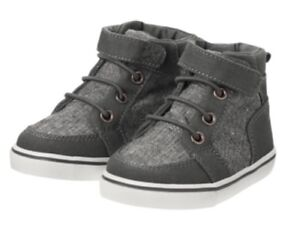 Gymboree Shoes Ankle Boots 2017 Cosmic Club Grey Gray Boys Nwt Size 6