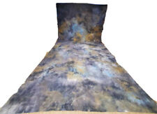 Hand Crafted Muslin Backdrop Abstract 10ft x 20ft Multicolored Background