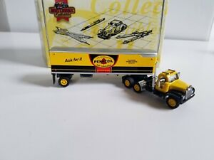 Matchbox Collectible the Pennzoil 1956 Mack B-61 Tractor Trailer
