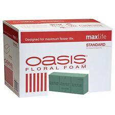 8/pk Oasis Instant Bricks Floral Foam Florist Supplies - Wet Foam Maxlife NEW