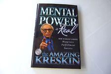 Mental Power is Real The Amazing Kreskin 2006