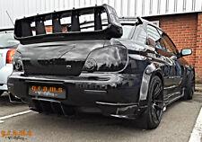 Subaru Impreza TS Rear Carbon Fiber Diffuser Undertray for Racing Performance v6